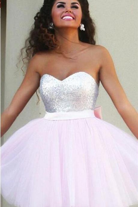 Short 2016 homecoming dress, Pink homecoming dress, short homecoming dresses, 2016 homecoming dress, short prom dresses