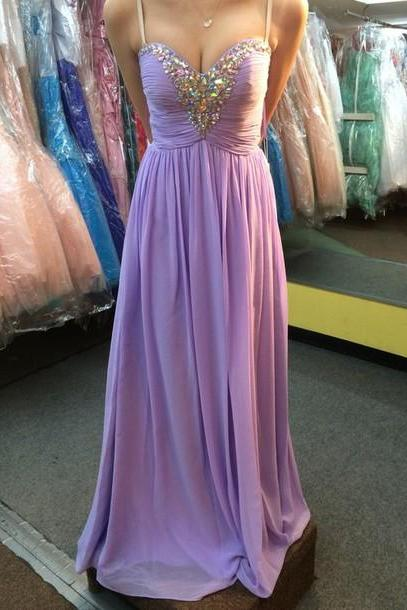 Prom dresses, Long Prom dresses, Sweetheart Prom Dress, Prom Gowns, Formal Prom Dress, Chiffon Sequins Evening Dresses, Formal Dresses